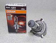 Лампа ближний дальний H4 Osram Super +30 P43t, фото 1