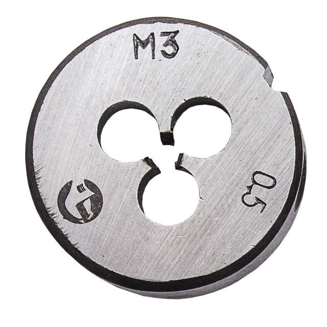 Плашка M 5x0,8 мм INTERTOOL SD-8214