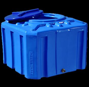 Емкость пластиковая 200 л квадратная (двухслойная), фото 2