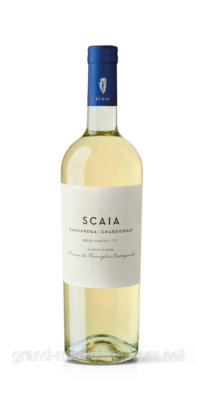 "Вино біле ""Scaia Garganega e Chardonnay"" 0,75 l"