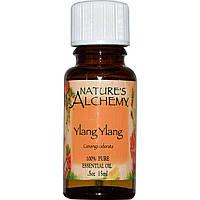 Nature's Alchemy, Иланг-иланг, эфирное масло, 0,5 унции (15 мл)