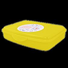 168016/2 універсальний Контейнер з затиском Алеана ., S (13*12*8), (оранж. прозрач), фото 3