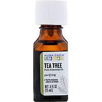 Эфирное масло чайного дерева Aura Cacia, 15 мл