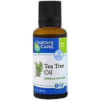 Earth's Care, Масло чайного дерева, 1 жидкая унция (30 мл)