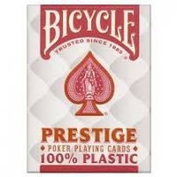 Пластиковые карты Bicycle Prestige . Jumbo Index ( Red )