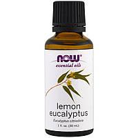 Now Foods, Эфирные масла, Лимон и эвкалипт, 1 унция (30 мл)