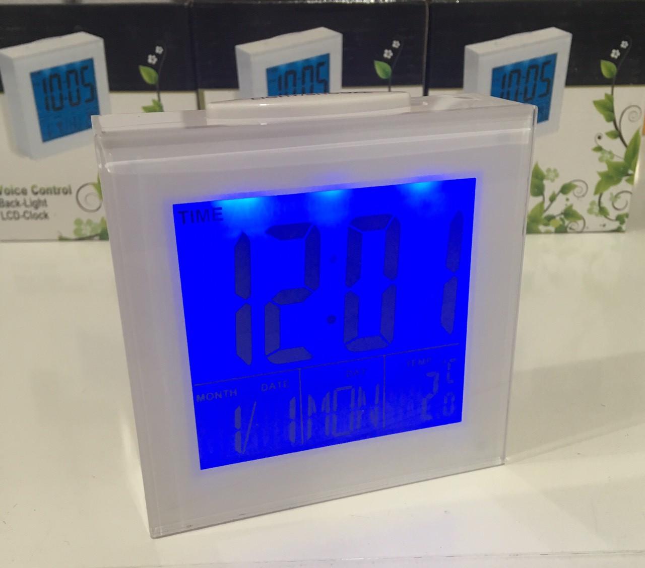 Часы цифровые настольные будильник 3501