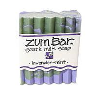 Мыло из козьего молока Indigo Wild, Zum Bar, лаванда-мята, 85 г