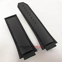 Каучуковый ремешок для часов Hublot King Power F1 black 30мм (06101), фото 1