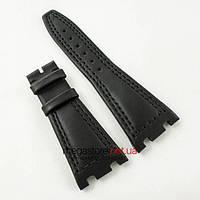 Кожаный ремешок для часов Audemars Piguet black 28мм (06103), фото 1