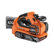 Ленточная шлифмашина аккумуляторная AEG BHBS18-75BL-0