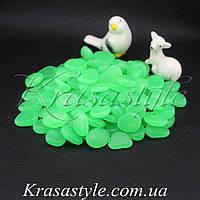 Светящиеся камни (100шт) зеленые