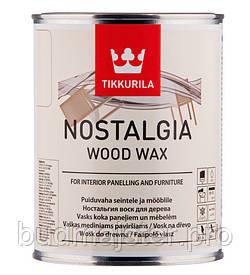 Віск Tikkurila Ностальгія - віск для меблів, 0,33 л