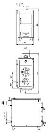 Котел твердотопливный Данко АКТВ-20, фото 2