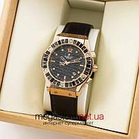 Женские наручные часы Hublot gold black (06928) реплика, фото 1