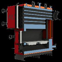 Жаротрубные отопительные котлы Altep Max 800 кВт, фото 3