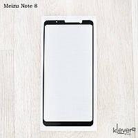 Защитное стекло для Meizu Note 8, Full Cover, Black silk