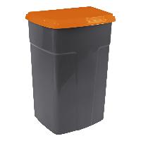 122062/3  Бак мусорный Алеана, 90л. ( 47*48*75 ) / гранит-оранж/