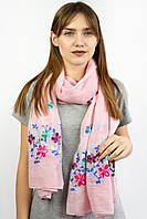 Шарф Famo Нела розовый 180х80 см - 136842, фото 1