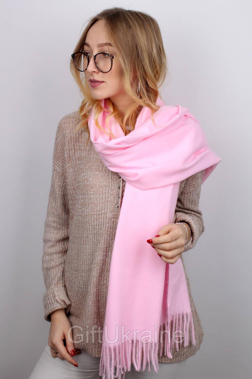 Шарф Famo Терри светло-розовый 180х70 см - 136953