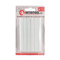 Комплект флуоресцентных клеевых стержней 11.2 мм*100мм, 12 шт INTERTOOL RT-1037