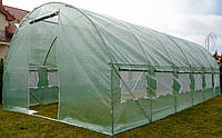 Теплиця парник з вікнами 18м² ( 600х300х200 ) Садовий тунель з вікнами для городу , виробник Польша!