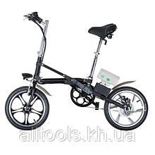 Электрический раскладной велосипед INTERTOOL SS-0011