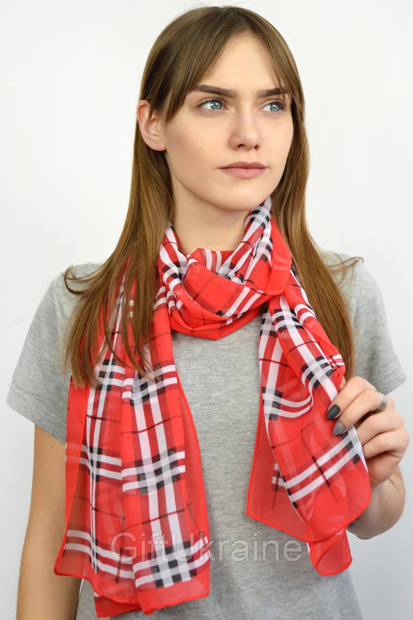 Шарф Габи красный 150х50 см - 136235