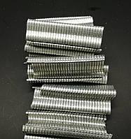 Скобы для обжима сетки