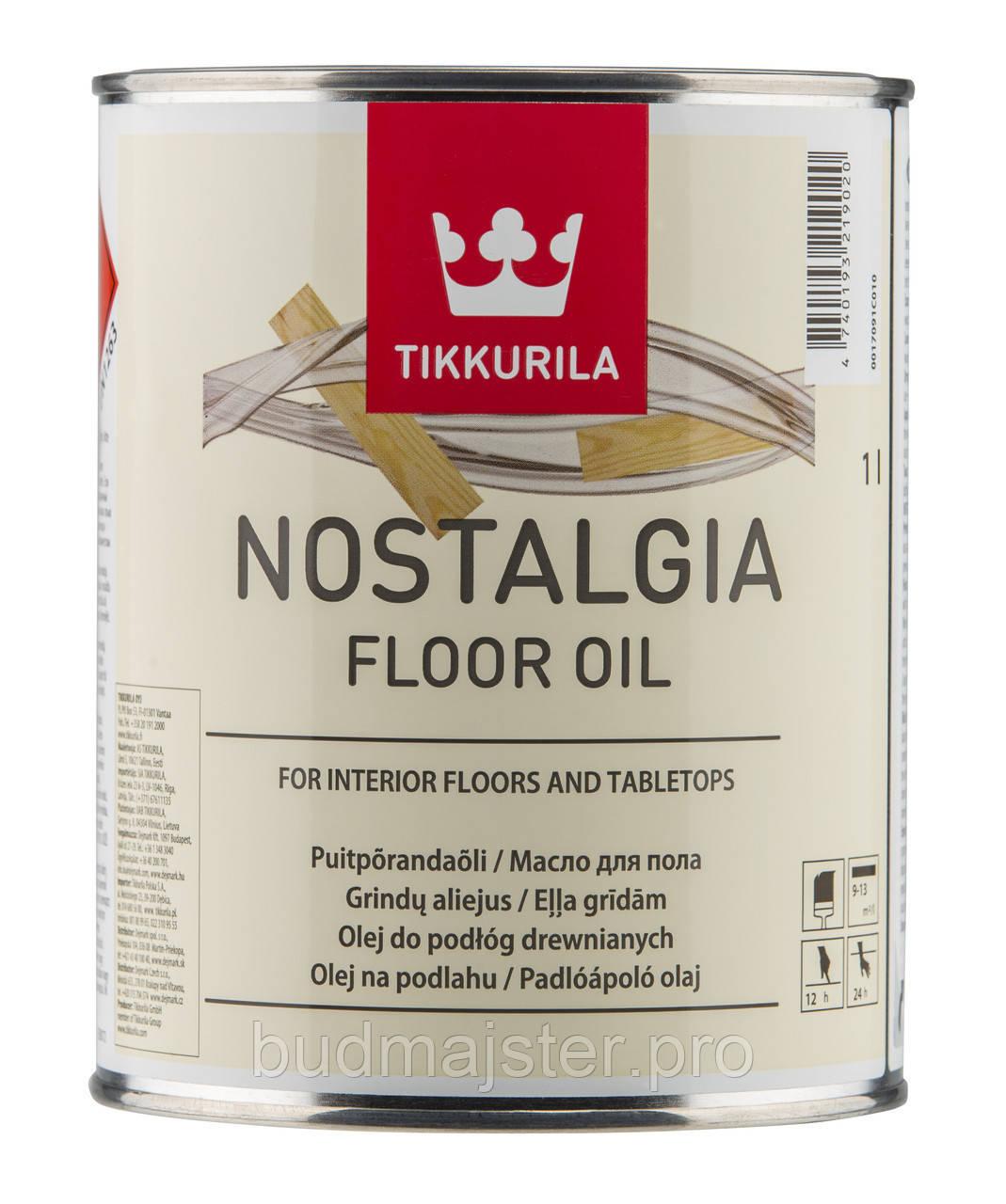 Масло Ностальгія TIKKURILA для підлоги , 1 л