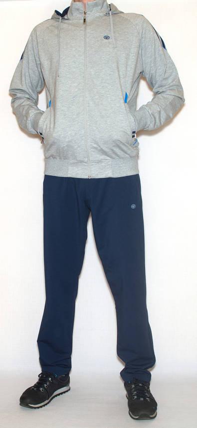 Спортивный костюм мужской с капюшоном PIYERA 7255 (M-3XL), фото 2