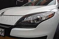 Renault Megan III - установка светодиодных линз