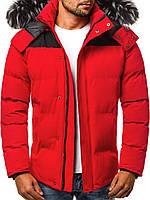 Яркая зимняя курточка мужская XL