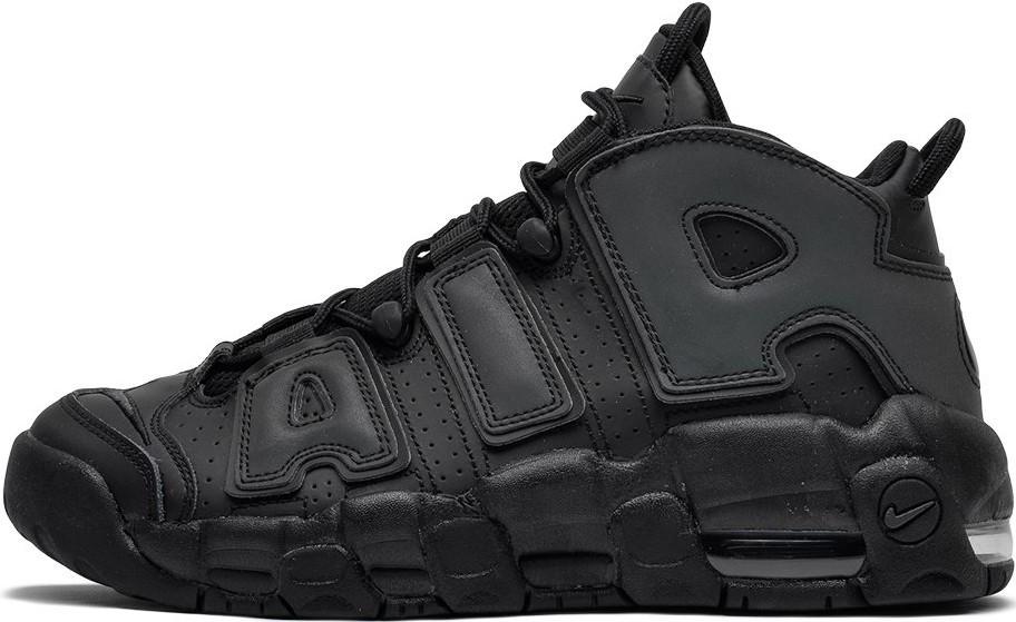 "Мужские кроссовки в стиле Nike Air More Uptempo X Chicago ""Black/Gray"""