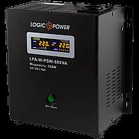 ИБП Logicpower LPA-W-PSW-500VA (350Вт) 2A/5A/10A 12В с правильной синусоидой, фото 1