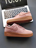 Женские кроссовки Nike Wmns Air Force 1 '07 SE Particle Pink (реплика)