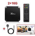 Андроид приставка Smart TV Box X96 mini 2/16 ГБ + IR-датчик, фото 2