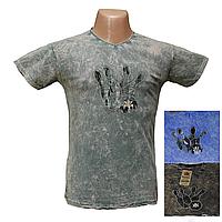 """Мужская футболка """"варенка""""  Турция H768"""