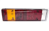 Фонарь задний DAF XF CF LF с разъемом (фишкой) AMP и подсветкой номера Левая сторона