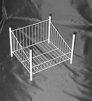 Дополнительная съемная корзина на стеллаж 60 см