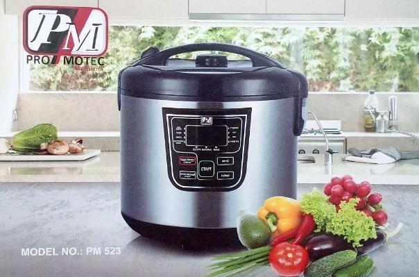 Мультиварка Promotec PM 523 860 Вт, мультиповар