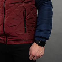 Мужская демисезонная куртка со съемным капюшоном, фото 3