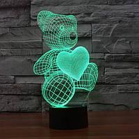 Нічник з 3D ефектом