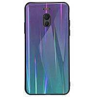TPU+Glass чехол Gradient Aurora для Meizu M6 Note