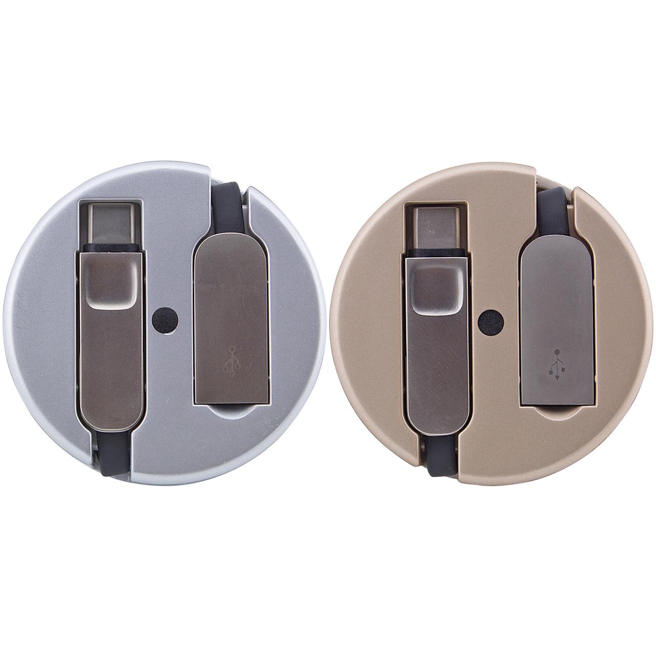 Переходник LDNIO LC90C OTG USB to MicroUsb / Type-C (Combo) 1m