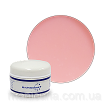УФ-гель Real Professional (камуфлирующий) Cover Petal, 50 г. Розовая пастель.