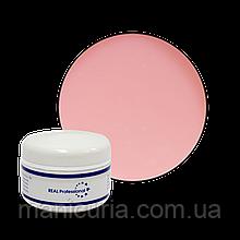 УФ-гель Real Professional (камуфлирующий) Cover Petal, 15 г. Розовая пастель.