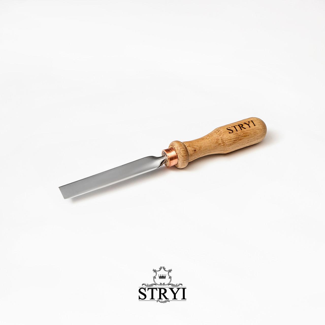 Стамеска профессиональная плоская STRYI 15мм, от производителя