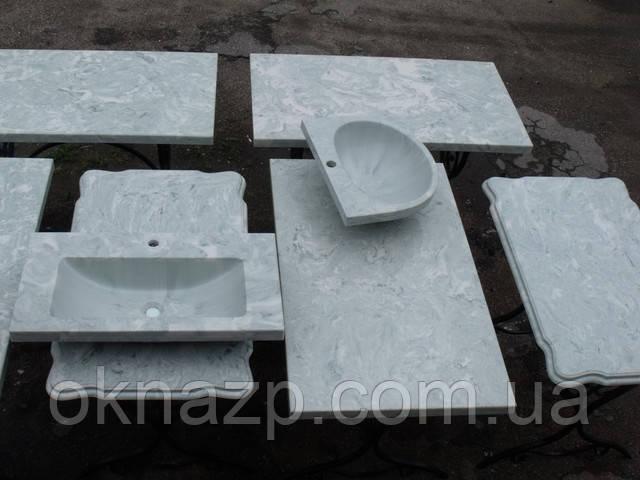 заказать столы кухонные из искусственного камня под заказ в