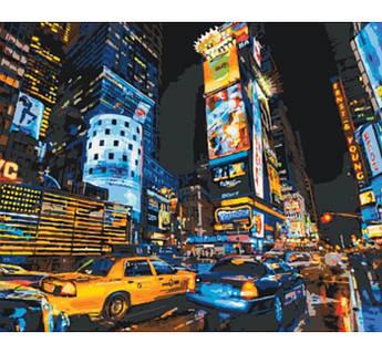 Картина по номерам Улицами Нью-Йорка 40 х 50 см (KH2185)